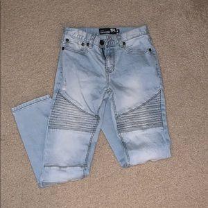 2 pairs of boys moto biker jeans NWOT